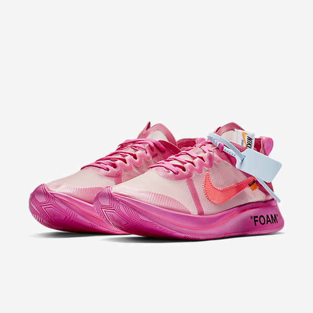 Zoom Fly Off-White Pink(オフホワイト) [4]