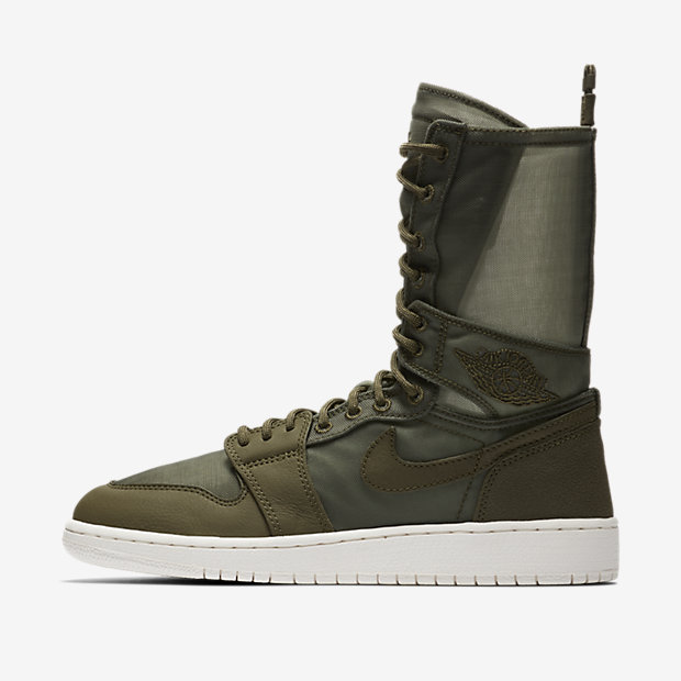 Air Jordan 1 Explorer XX Olive Canvas (ウィメンズ)