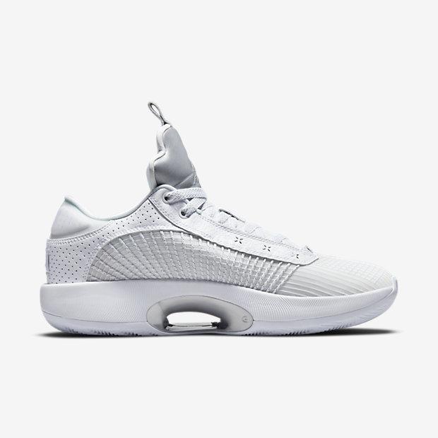 Air Jordan 35 Low White Metallic [2]