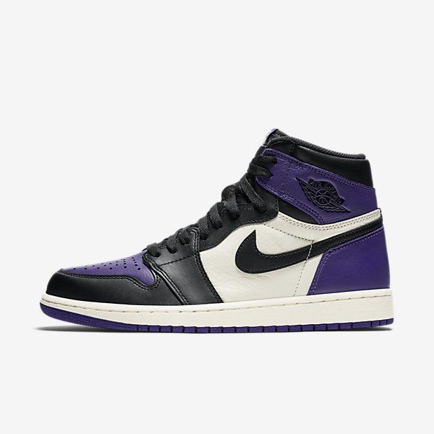 Air Jordan 1 Retro High Court Purple [1]