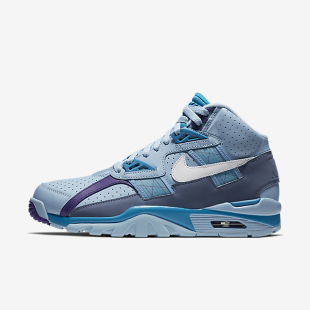 Air Trainer SC High Leche Blue