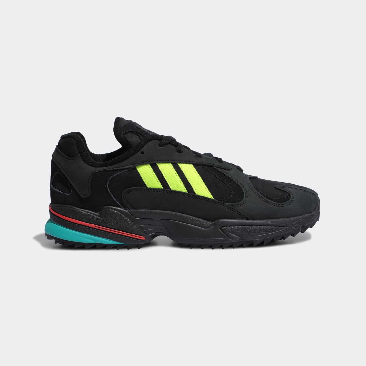 Yung-1 Trail Core Black Solar Yellow
