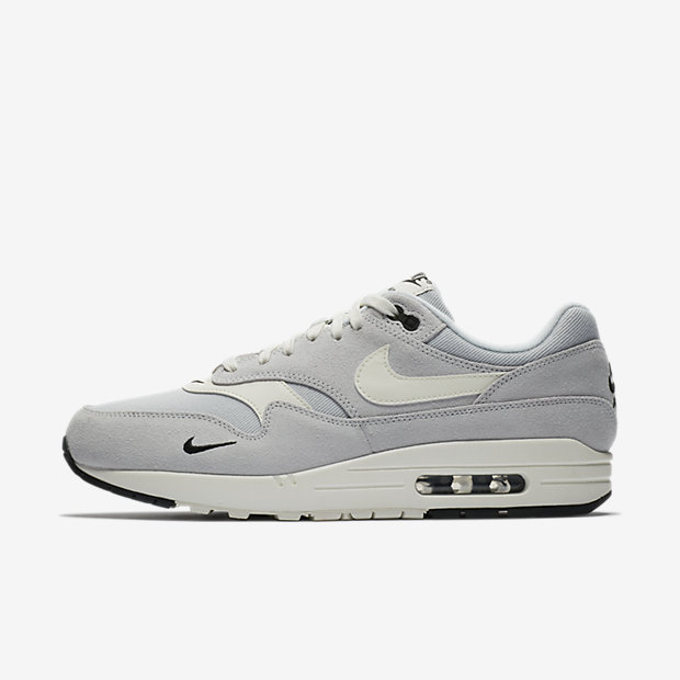 Air Max 1 Mini Swoosh Pure Platinum
