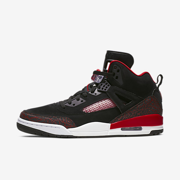 Jordan Spizike Black University Red