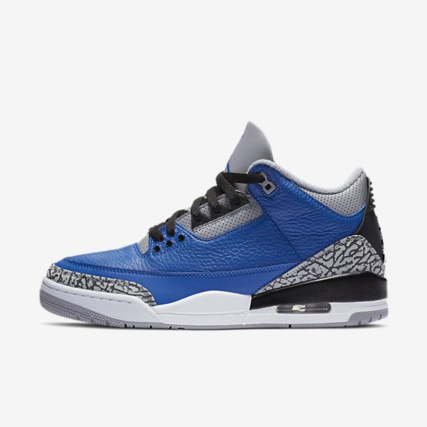 Air Jordan 3 Retro 'Blue Cement' [1]