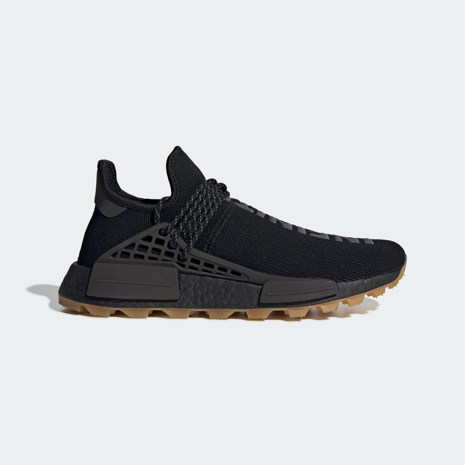 NMD Hu Trail Pharrell Now Is Her Time Black [1]