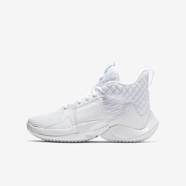 Jordan Why Not 0.2 White (GSサイズ)