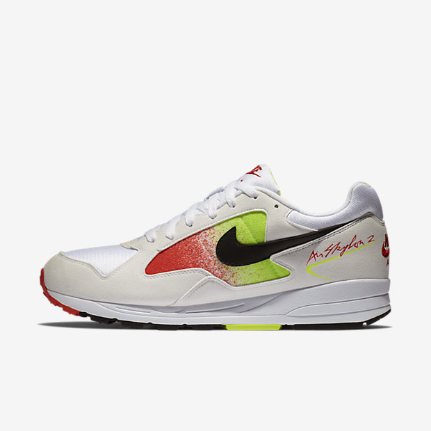 Air Skylon 2 White Black Volt Habanero Red