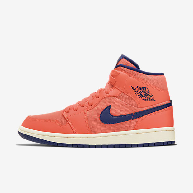 Air Jordan 1 Mid Turf Orange Blue Void (ウィメンズ)