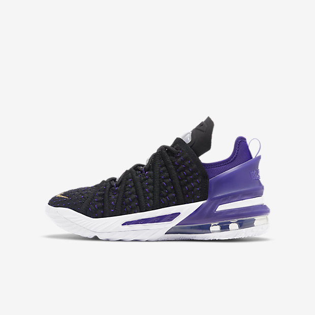 LeBron 18 Lakers Purple (GSサイズ)