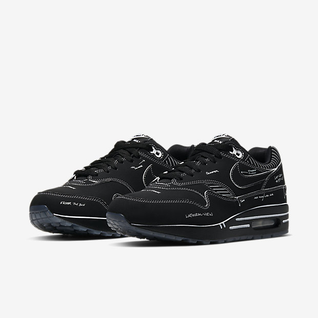 Air Max 1 Sketch to Shelf Black [4]