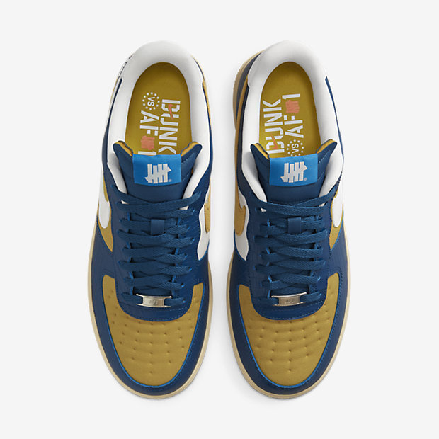 """Air Force 1 Low """"5 On It"""" x UNDEFEATED [3]"""