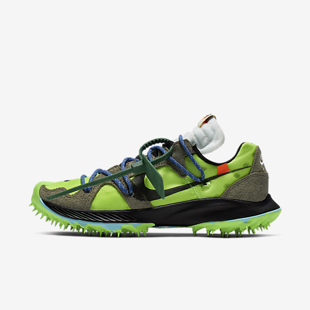 Zoom Terra Kiger 5 Off-White Electric Green (オフホワイト)(ウィメンズ) [1]