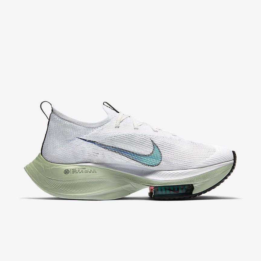 Air Zoom Alphafly Next% White/Jade Aura [2]