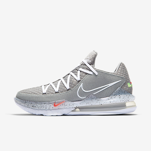 LeBron 17 Low Particle Grey