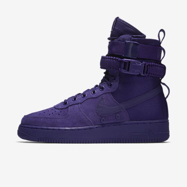 SF Air Force 1 High Court Purple