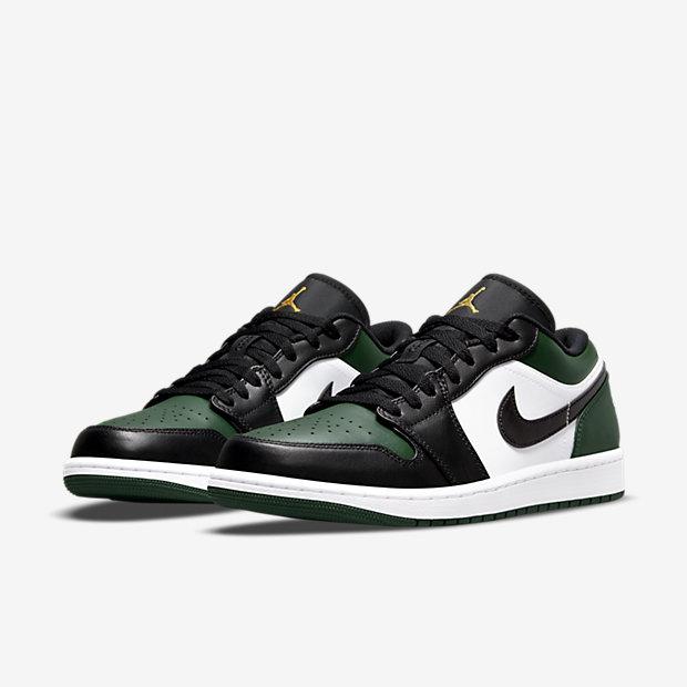 """Air Jordan 1 Low """"Noble Green"""" [4]"""
