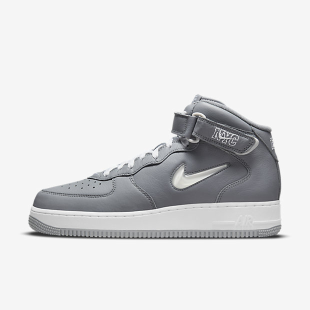 Air Force 1 Mid QS NYC Cool Grey [1]