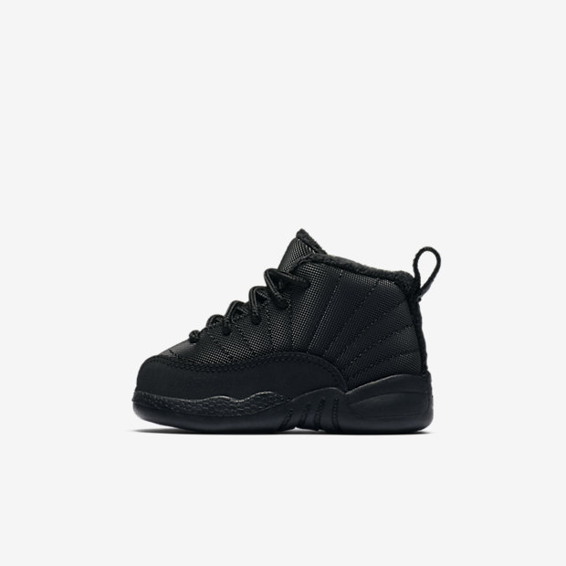 Air Jordan 12 Retro Winter Black (TDサイズ)