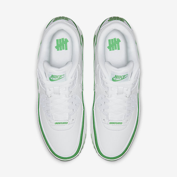 Air Max 90 Undefeated White Green [3]