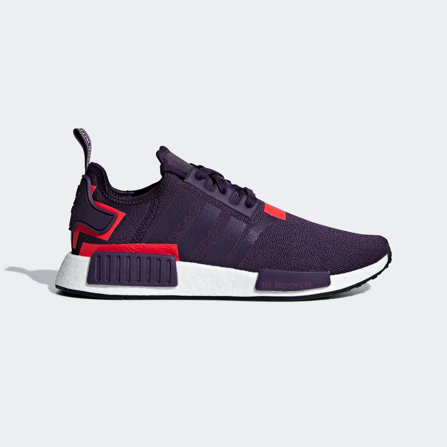 NMD R1 Legend Purple Shock Red