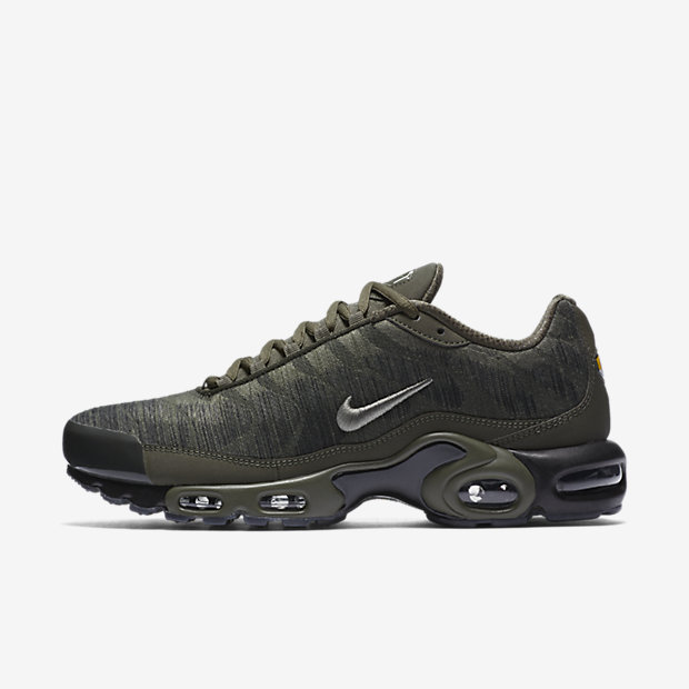 Air Max Plus Jacquard Cargo Khaki
