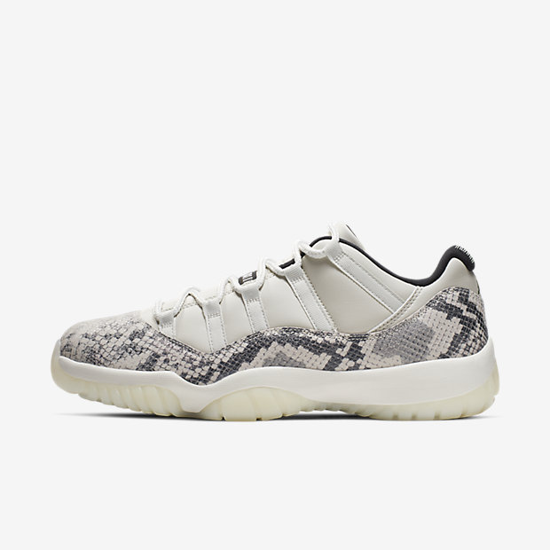 Air Jordan 11 Retro Low Snake Light Bone