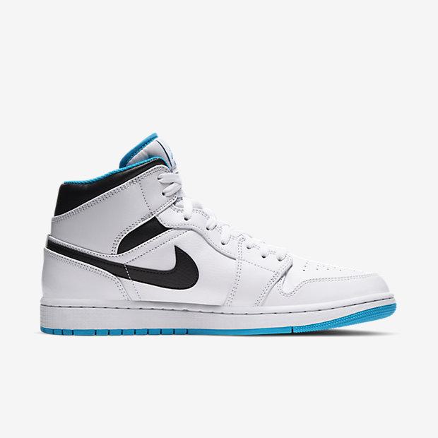 """Air Jordan 1 Mid """"Laser Blue"""" [2]"""
