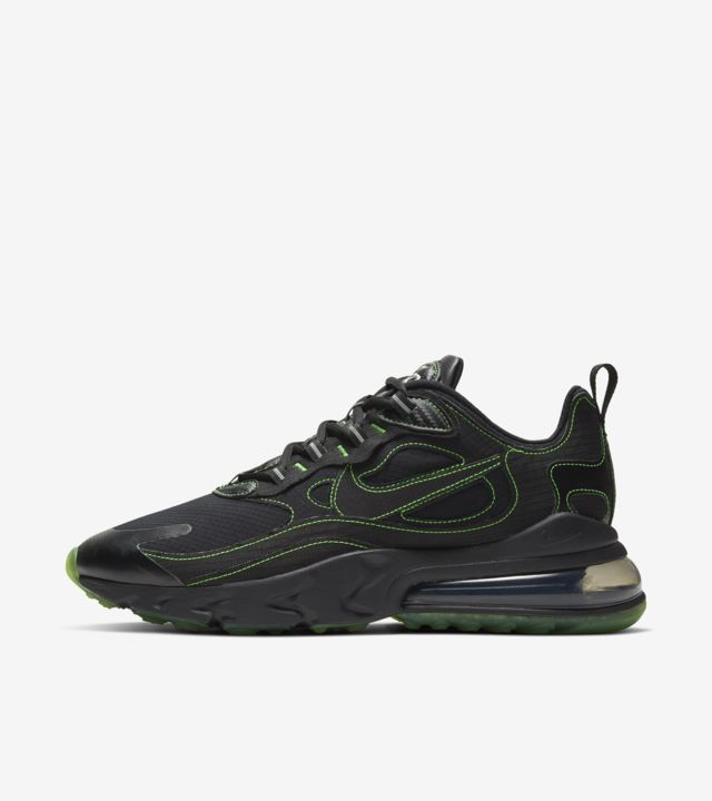 Air Max 270 React  Black/Electric Green [1]