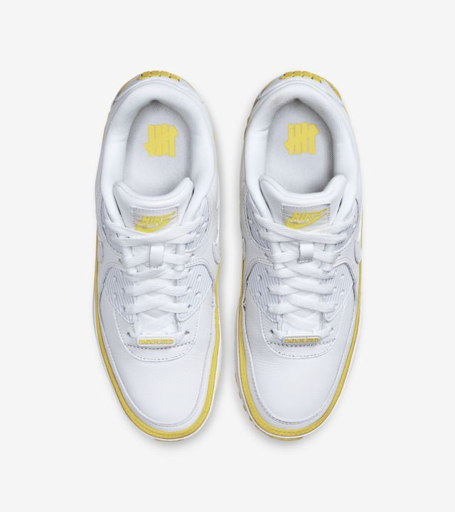Air Max 90 Undefeated White/Opti Yellow [3]