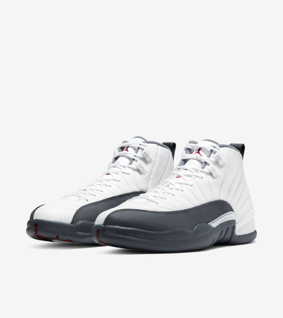 Air Jordan 12 White/Dark Grey [4]