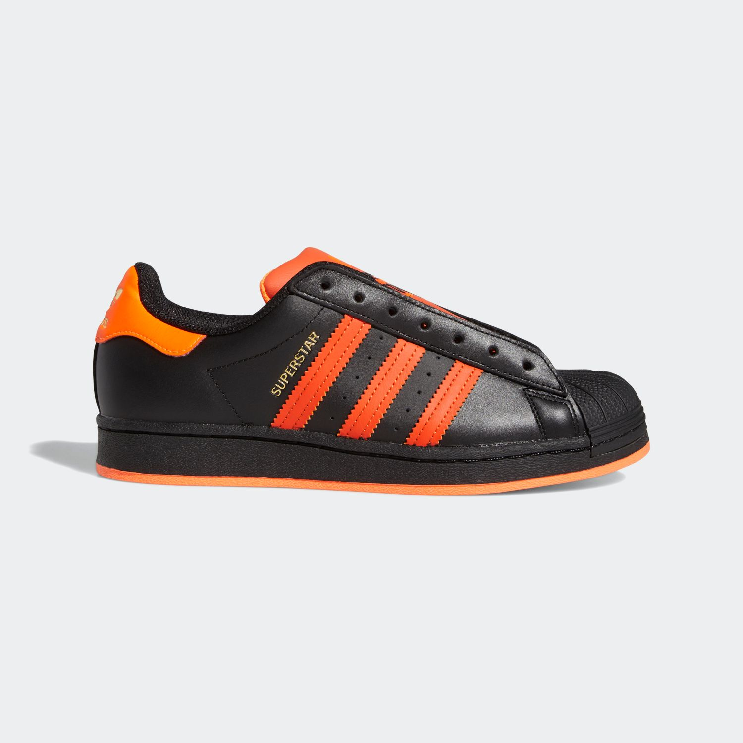 Superstar Laceless Black / Orange [2]