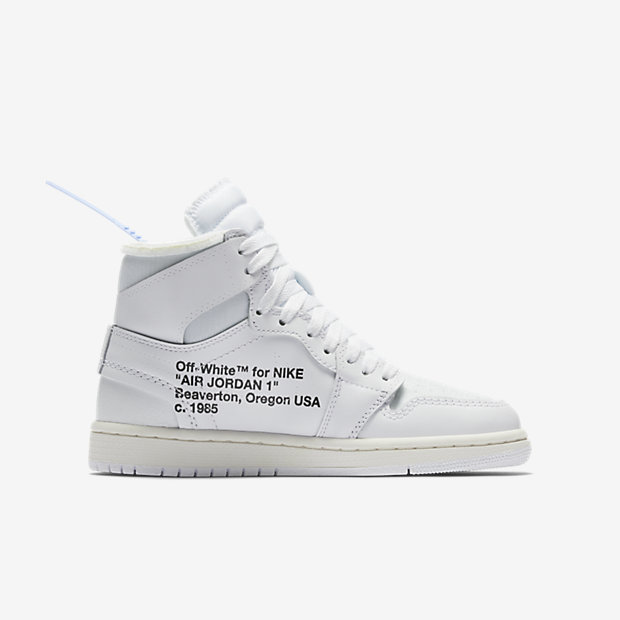 Air Jordan 1 Retro High Off-White White (GSサイズ) [2]