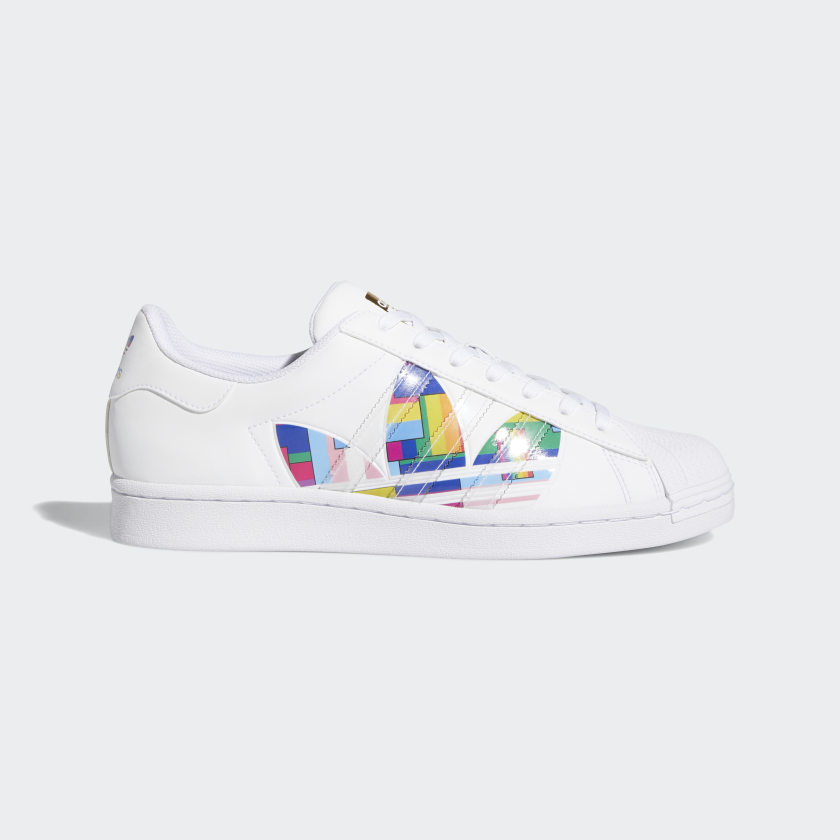 Superstar Pride Shoes Cloud White [1]