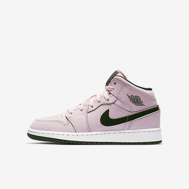Air Jordan 1 Mid Pink Foam (GSサイズ)
