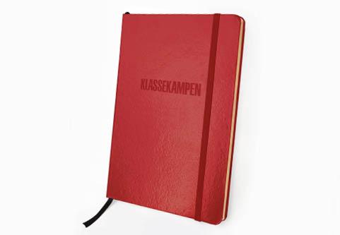 Klassekampens notatbok - rød