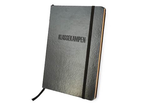 Klassekampens notatbok - svart