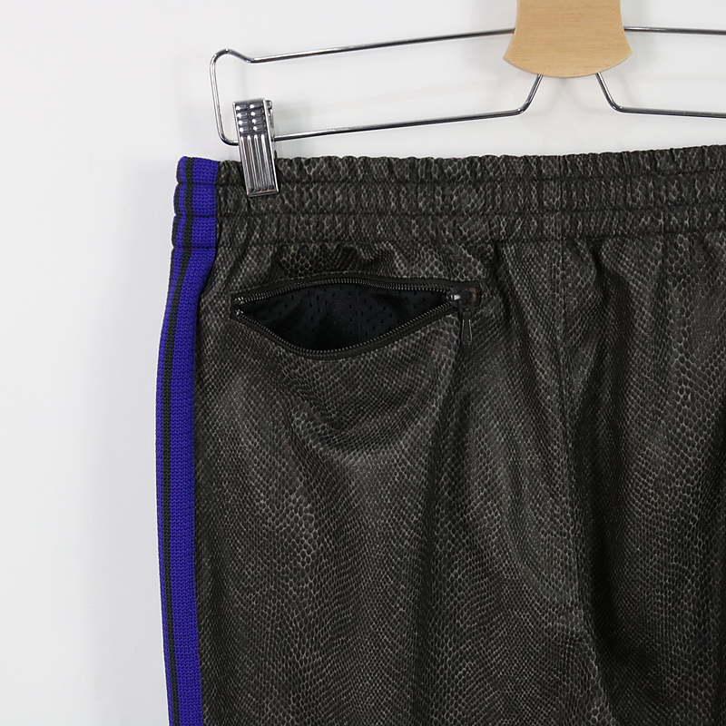 Needles / ニードルス Narrow Track Pant - Synthetic Leather フェイクレザー トラックパンツ