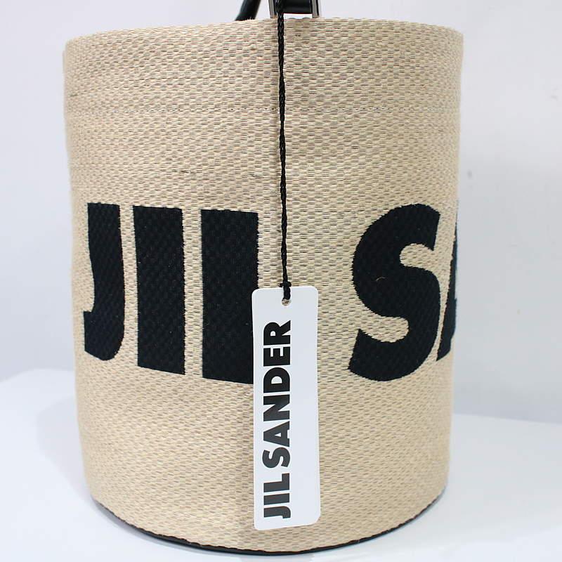 JIL SANDER / ジルサンダー 2wayドローストリングバスケットかごバッグ