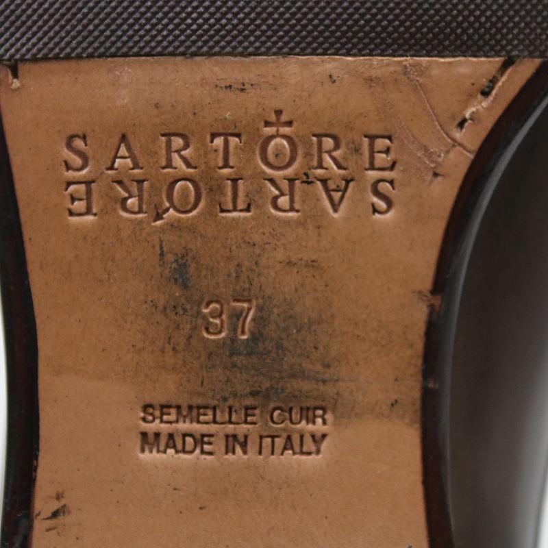 SARTORE / サルトル レザーミディアムブーツ