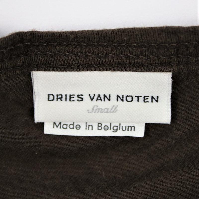DRIES VAN NOTEN / ドリスヴァンノッテン ねじれデザイン半袖Tシャツ