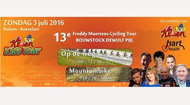 Kloen Kids Tour en Freddy Maertens Cycling Tour 2016