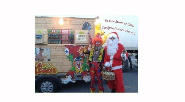 Kloen op Kerstmarkt Rumbeke