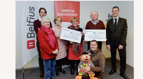 Bloedgeversvereniging Roeselare Noord schenkt 1000 € aan Kloen
