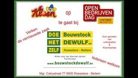 Open Bedrijvendag Bouwstock Dewulf