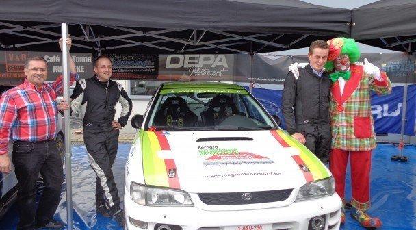 Rally Team DEPA Motorsport steunt Kloen