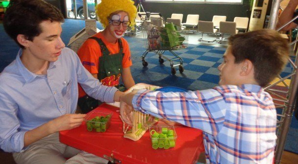 Kloen op vakbeurs Ameel Candyworld Lollywood