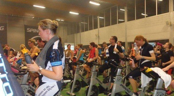 Spinning marathon Hooglede Gits