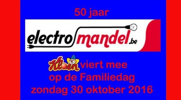 Electro Mandel viert 50 jarig bestaan