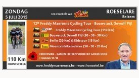 Freddy Maertens Cycling Tour - Kloen Kids Tour - Kloen Smile Tour 2015